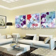China wholesale YISENNI modern abstract artistic painting for wall decoration on sale