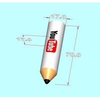 China Sketch 3D USB flash drive VS-C21 PEN design USB flash drive on sale