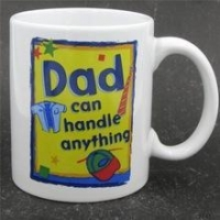 China custom made shape printing 11oz father's day ceramic 99 cents store mug for dad on sale