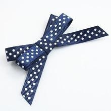 China Hot sell fashional grosgrain ribbon bow tie on sale