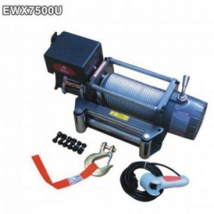China 7500lbs Electric Winch 12V/24V Recovery Winch With Wireless Remote on sale
