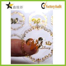 China Best price custom vinyl sticker label, private label sticker, self adhesive label printing on sale