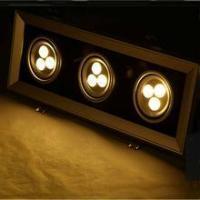 China Led Bean Pot Light Decorative lighting corridor 9W led bean pot light on sale