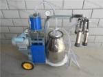 Piston Typed Single Bucket Cow Milking Machine
