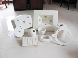 China ceramic fibers vacuum formed ceramic fiber on sale