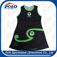 China Custom Sublimation Netball Uniforms Netball Apparel on sale