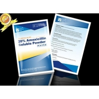 China Amoxycillin trihydrate water soluble powder 20% on sale