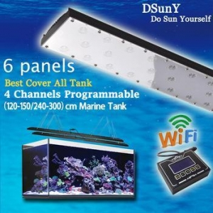 China DSunY wifi intelligent programmable led aquarium lighting on sale