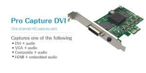 China DVI VGA Video Capture Card Pro Capture DVI Video Capture Card on sale