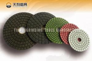 China Diamond polishing pad wet buff pad on sale