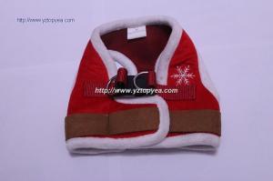 China cHRISTMAS PET CLOTHES.DOG VEST on sale