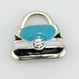 China Aqua Handbag Floating Charm on sale