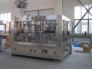 China Alcohol/Wine Filling and Packaging Line on sale