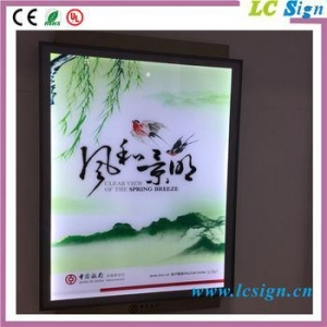 China China supplier super slim A0,A1,A2,A3,A4 aluminum acrylic led photo picture frame new models on sale