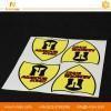 China custom printed outdoor PET plastic self adhesive company logo brand name label car vinyl sticker on sale