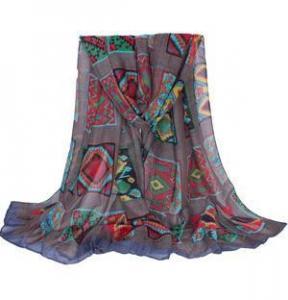 China Wholesale cotton viscose shawl on sale