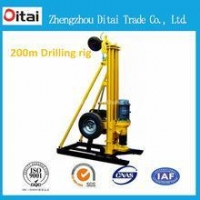 100m China manufacturer portable borehole drilling machine