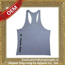 China Good quality crazy Selling men's plain white tank tops on sale