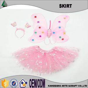 China 3 Pieces Pink TuTu Skirt Set on sale
