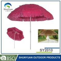 Tiki Thatched Hula Straw Beach Umbrella Package:one self PE or Nylon bag