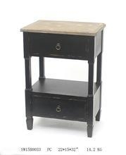 China Antique end table with 2 function drawers on sale
