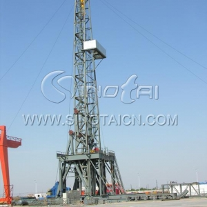 China Drilling Rig Skid-Mounted Drillin... on sale