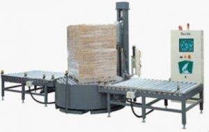 China Mechanical Stretch Automatic Pallet Stretch Wrapper on sale