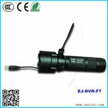China HD 720P Outdoor Video Camera Flashlight / MP3 Music Player torch & F7 on sale