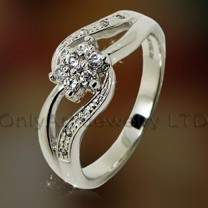 China high fashion best gift fahsion cheap silver ring on sale