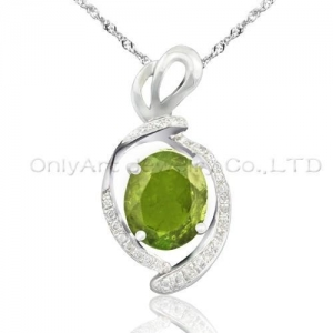 China high quality 925 sterling silver pendant with AAA grade CZ stones on sale