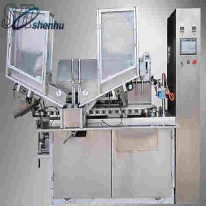 China HTGF-100 tube Filling And Sealing Machine(Plastic/Laminated Tube) on sale