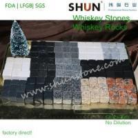 China Whisky gift   Whisky stones   granite whisky ice stone on sale