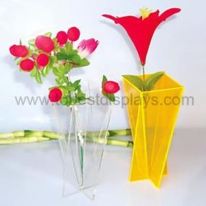 China Colored Acrylic Vase on sale