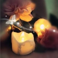 Newst Design yellow flame Battery Operated Tealight Candles