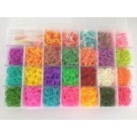 Arts & Crafts Loom Twisters Friendship Loom Bands Set (Large)