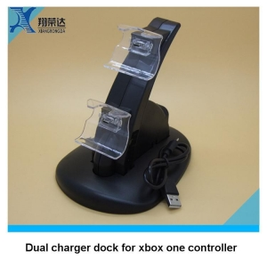 China Laptop cooling Pad For Xbox one controller charger stand video games dual charger dock on sale