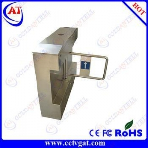 China Stainless steel entrance durable automatic swing turnstile mechanism on sale