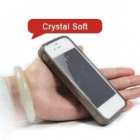 iP004 Apple iPhone 4S S 4 4G Gel Crystal Soft Case Cover