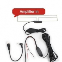 China ES015 In Car Analog Amplified TV Antenna Booster on sale