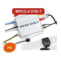 China ES499D DVB-T HDTV Receiver Box MPEG-4 MPEG-2 Two Amplified TV Antenna on sale