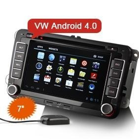 China Erisin ES7000A 7 HD VW Android 4.0 Car DVD Player GPS WiFi 3G CanBus on sale
