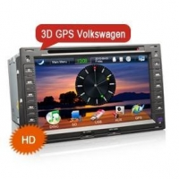 China Erisin ES838V 3D Car Stereo GPS USB SD TV iPod special for VW Used on sale