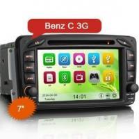 "Erisin ES7507M 7"" Car DVD Player GPS SAT NAV 3G Benz C Class W203 CLK W209 W163 W639"