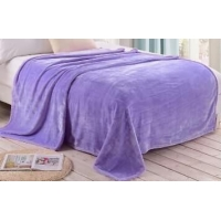 China Flannel fleece blanket Flannel fleece blanket,100% polyester solid color .2015 new sale on sale