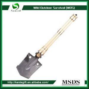 China Military shovel spade fishing multi-function folding shovel on sale