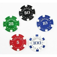 China Poker Chip MODEL: HN-404,poker chip with Number injection on sale