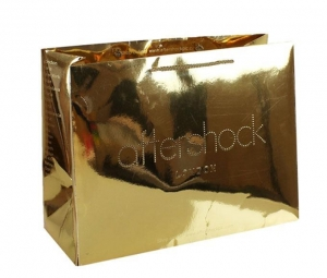 China luxury paper gift bags Colorful Shopping Paper Cosmetic Bag Wholesale on sale