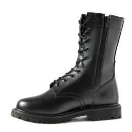 China Combat boots military combat boots side zipper goodyear welt on sale