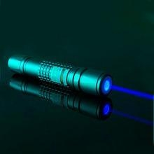 China 1000mw 450nm blue laser pointer burn matches and cigarettes,silver, black and golden for option on sale