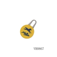 China metal zip puller zipper pull Model: VR0867 on sale